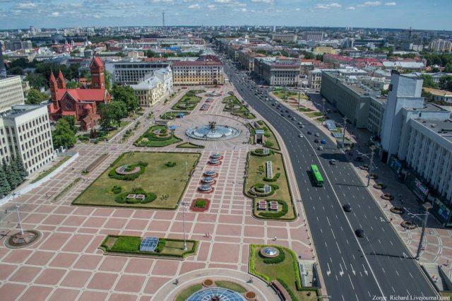 Отели города Минска