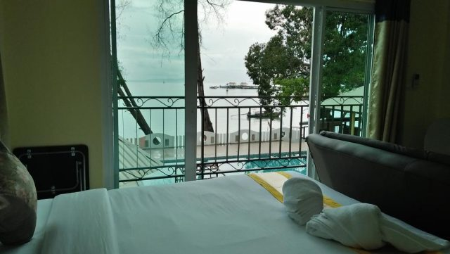 недорогие отели Краби с балконом и видом на море, Таиланд
