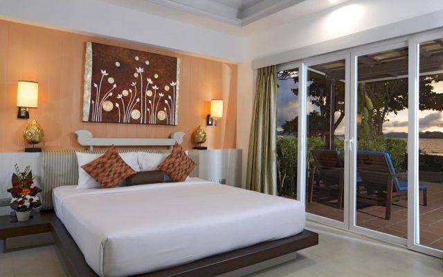 отели провинции Краби с красивым видом на море из окон в пол