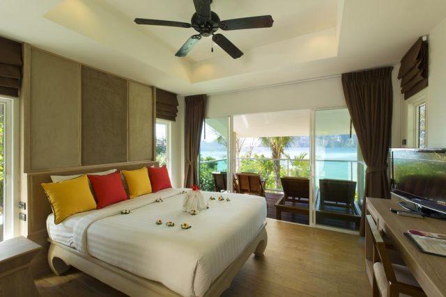 отели острова Пхи-Пхи Таиланд с красивым видом на море