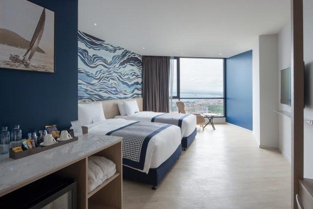 отель Brighton Grand Hotel Pattaya с красивым видом из окна на море