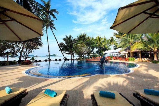 отели острова Ко Чанг с красивым видом из окна