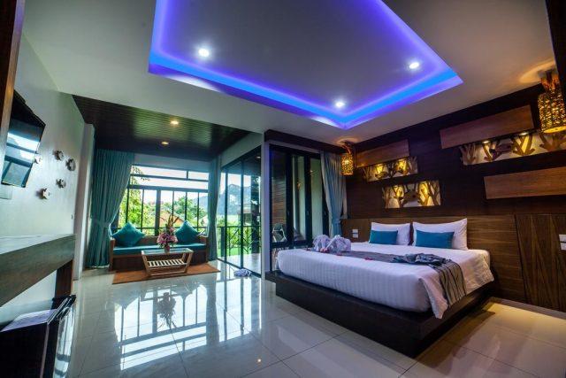 отели и бунгало острова Пхи-Пхи с красивым видом на море