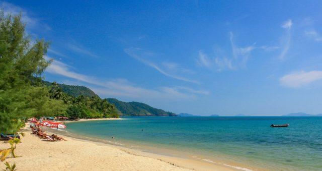 отели острова Ко Чанг Таиланд с видом на море