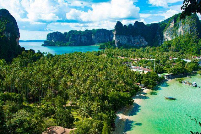 отели провинции Краби Таиланд с красивым видом на море