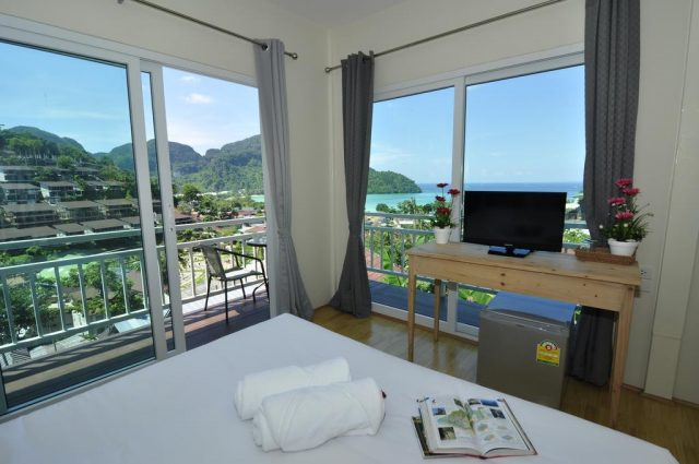отели острова Пхи-Пхи Таиланд с красивым панорамным вином на море