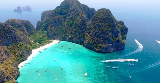 отели острова Пхи Пхи Таиланд с видом на море