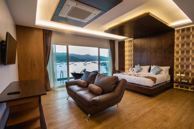 красивые отели острова Пхи-Пхи Таиланд с шикарным видом на море