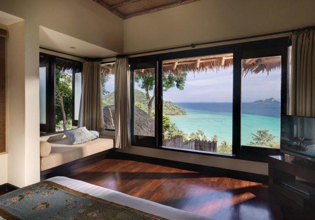 красивые отели острова Пхи-Пхи с великолепным видом на море