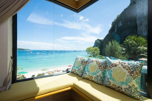 отели острова Пхи-Пхи Таиланд с красивым панорамным видом на море