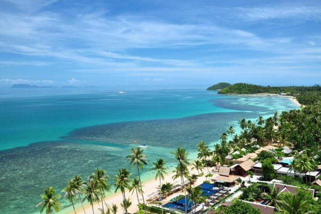 Отели Самуи с красивым видом на море