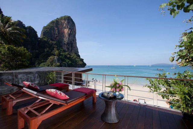 отели Краби с номерами с балконом и видом на море, Таиланд