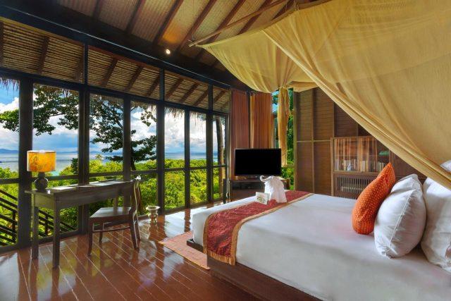 бунгало на острове Пхи-Пхи Таиланд с красивым видом на море