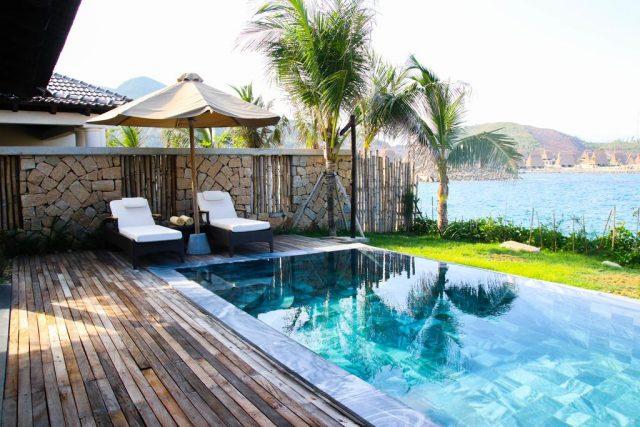 виллы в Нячанге с личным бассейном и красивым видом на море и пляж