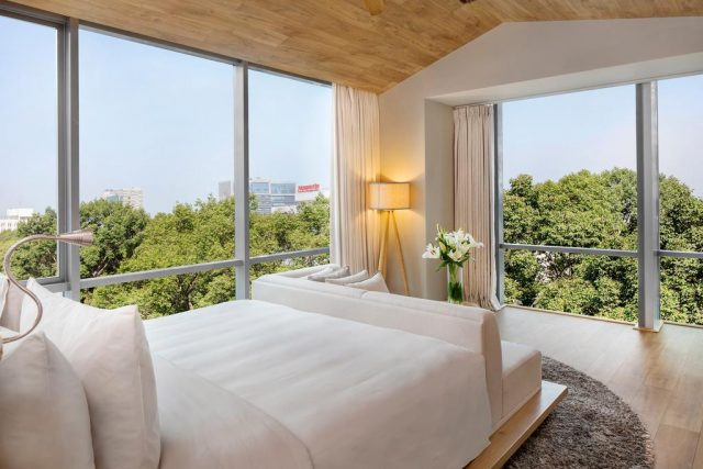 Отель в Хошемине с красивым панорамным видом на город