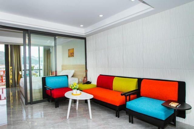 недорогой отель в Нячанге с красивым видом на море
