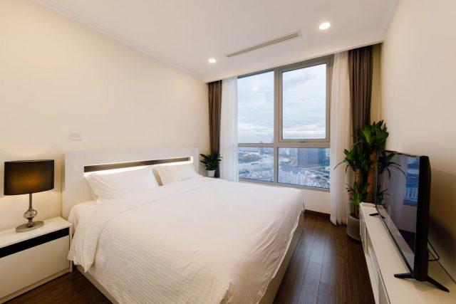 апартаменты в Хошемине с красивым видом из окна на город и реку