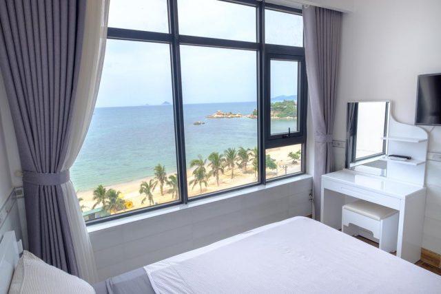 апартаменты в Нячанге с красивым видом на море и пляж