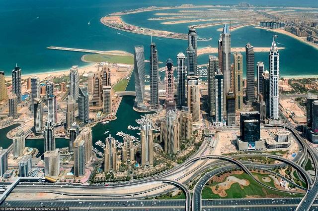 Отели Дубая с видом на море и город