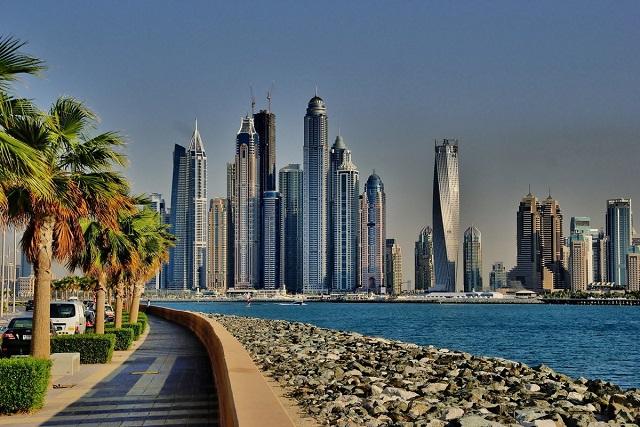 видовые отели Дубая