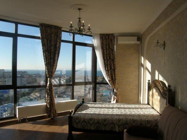 апартаменты в Анапе с панорамным видом на город и море