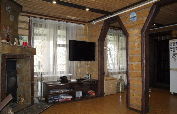 загородный дом с камином в аренду