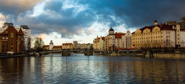 отели Калининграда с красивым видом на город