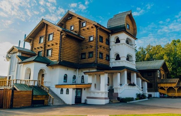 этно отели Подмосковья в русском стиле