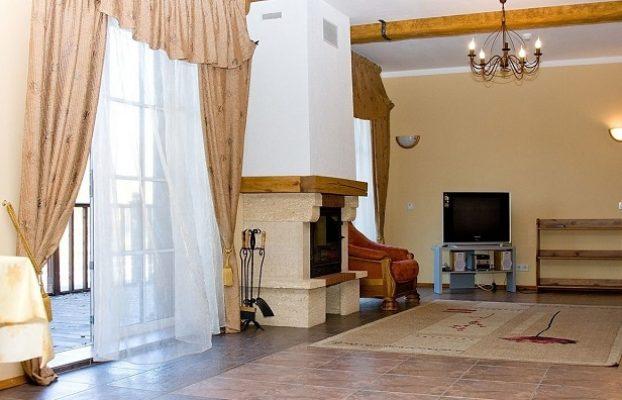 домик с камином в аренду