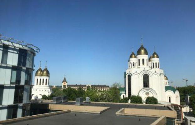 вид из окон отеля Radisson Blu Hotel Kaliningrad