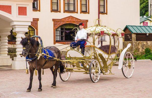 катание на лошадях в отеле Царьград