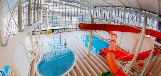 отели Подмосковья с аквапарком