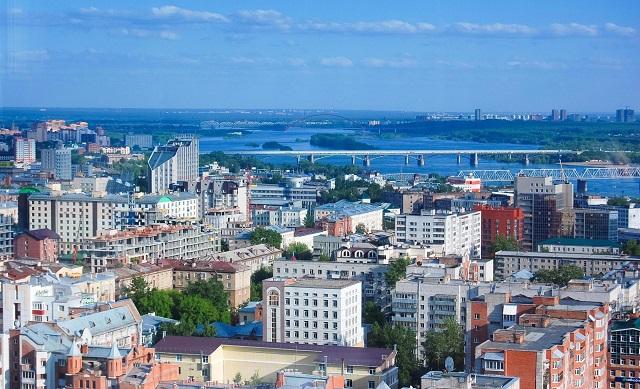 Отели и апартаменты Новосибирска с красивым видом из окна