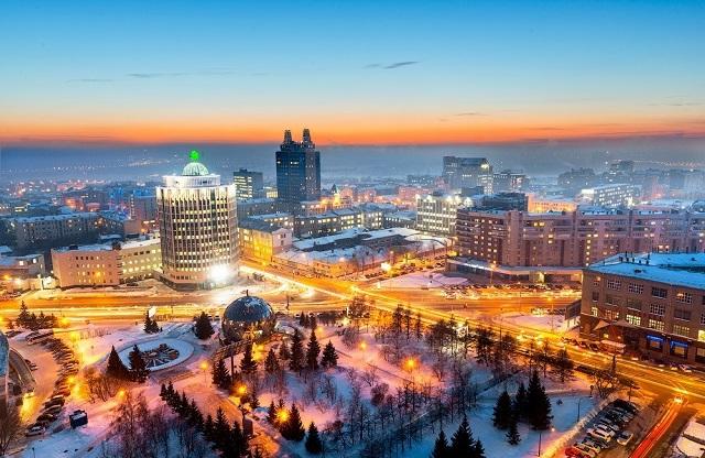 лучшие четырехзвездочные и пятизвездочные отели в Новосибирске