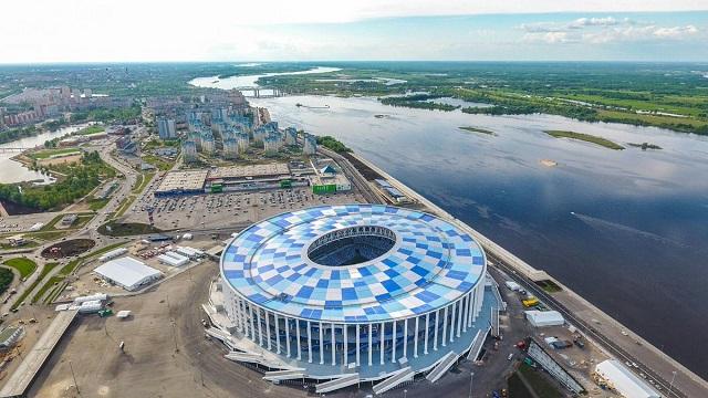 лучшие отели, хостелы и апартаменты рядом с футбольным стадионом в Нижнем Новгороде