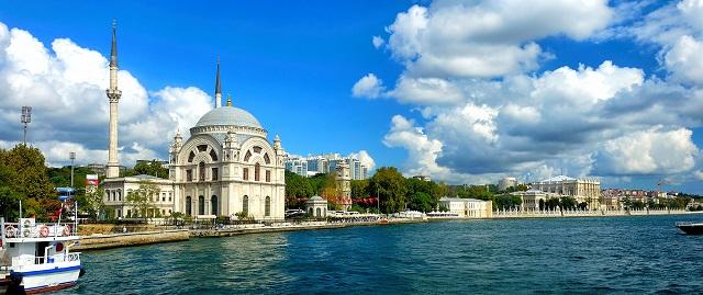 отели с террасами в Стамбуле с красивым видом на город и Босфор
