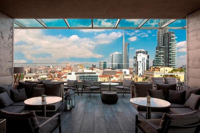 лучшие отели Милана с красивым видом на город