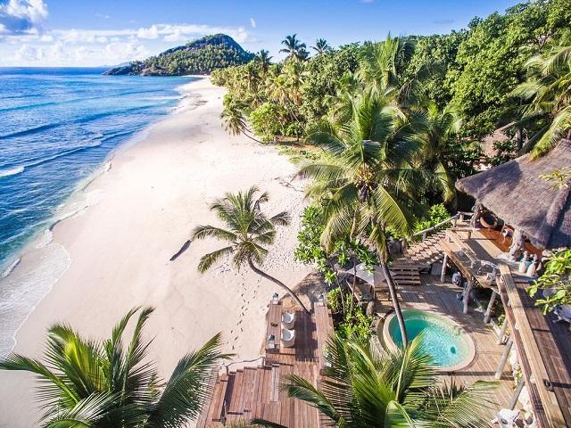 Самые лучшие виллы у пляжа на Сейшельских островах