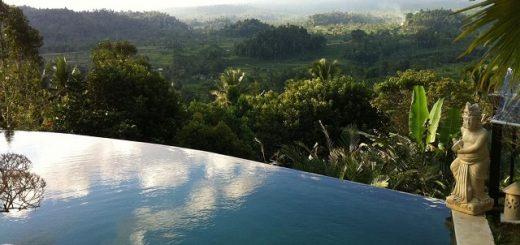 Отели Бали с красивым видом на горы