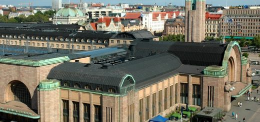 Лучшие отели рядом с ж/д вокзалом в Хельсинки
