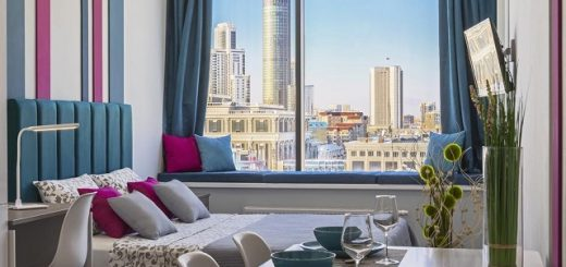 Апарт отель с шикарным видом на город