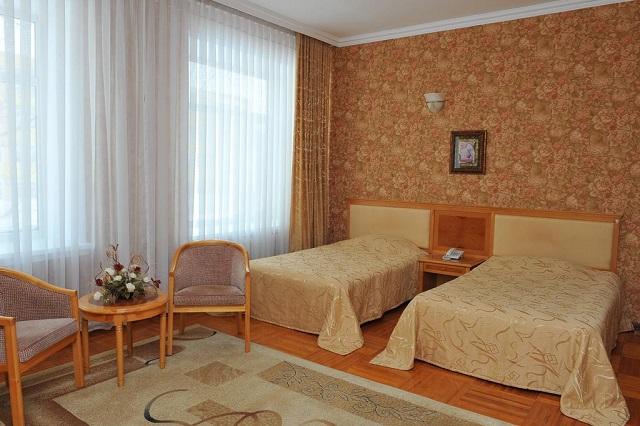 отели и гостиницы с двухместными номерами в Симеизе