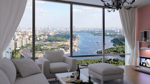 отели Москвы с панорамным видом на город