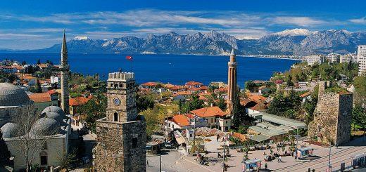 отели Антальи с красивым видом на город и море