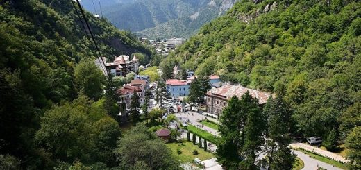Лучшие видовые отели и апартаменты Баржоми