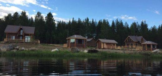 лучшие дома для отдыха в Карелии на берегу озера